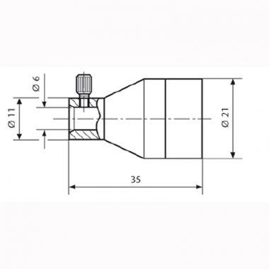 SCHOTT Focusing Lenses for Flexible Lightguides & Goosenecks 158 210 (562440083)