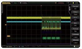 Rigol SD-I2C/SPI-DS6 I2C & SPI Decoding