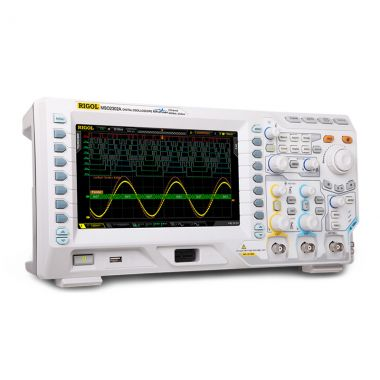 Rigol MSO2302A-S 300 MHz Mixed Signal Oscilloscope with 2 Channel Waveform Generator