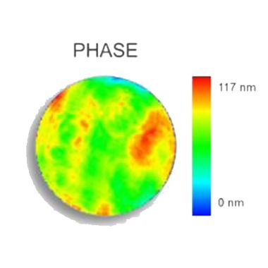 Phasics Laser Optics Testing