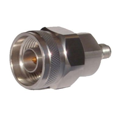 RF Precision Adapter, N-Type Male To SMA Female, 18GHz, 50Ω