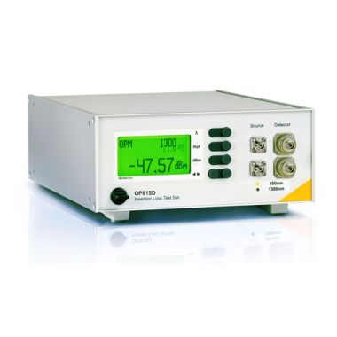 OptoTest OP815-D Dual Channel (Duplex) Insertion Loss Meter