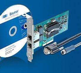 Baumer Full Starter Kit for GigE TXG Series Cameras