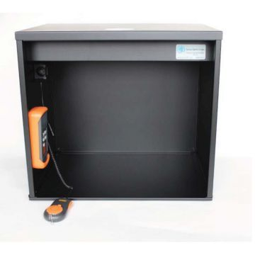 """Savvy Optics Viewing Fixture MIL/ANSI/ISO Scratch-Dig Inspection: """"The Black Box"""""""