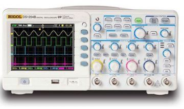 Rigol DS1204B 200MHz 2GSa/s 4-Channel Digital Oscilloscope