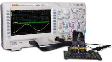 Rigol MSO4024 200MHz 4GSa/S 4-Channel Digital Oscilloscope
