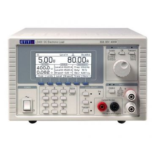 AIM-TTi LD400 DC Electronic Load, 400W, 80V, 80A, Analogue Control