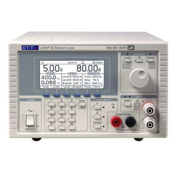 AIM-TTi LD400P Programable DC Electronic Load, 400W, 80V, 80A, Analogue and Digital Control