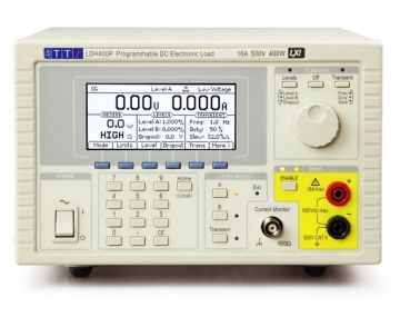 AIM-TTi LDH400P Programable Electronic DC Load, 500V, 16A, 400W with analogue and digital control