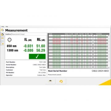 OptoTest OPL-CLX Software Suite