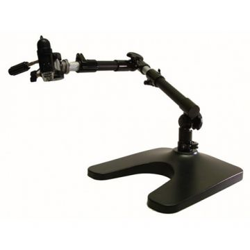 Dino-Lite MS52BA2 Heavy Duty Jointed Flexible Arm Stand with Baseplate