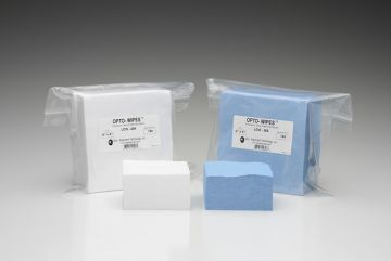 """OPTO-WIPES™ Precision Lens Cleaning Wipes - 6"""" x 6"""" 150 wipes/pack"""