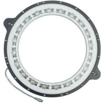 Monster Light High Brightness LED Cyan Ring Lights - MRL13.5-505