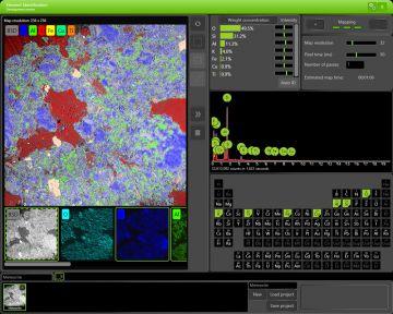 Phenom Elemental Mapping Software