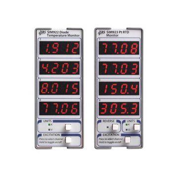 SRS SIM923 Platinum RTD Temperature Monitors