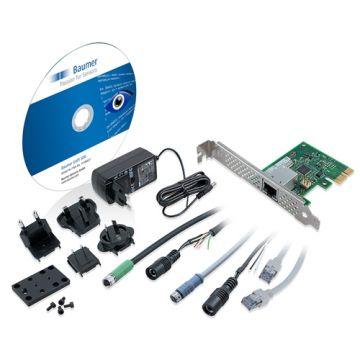Baumer Full Starter Kit for the GigE VEXG/ VCXG camera series